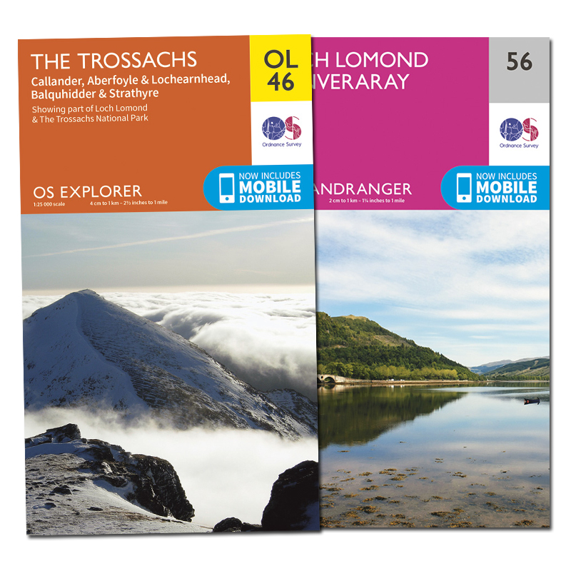 Find paper maps in the OS Shop